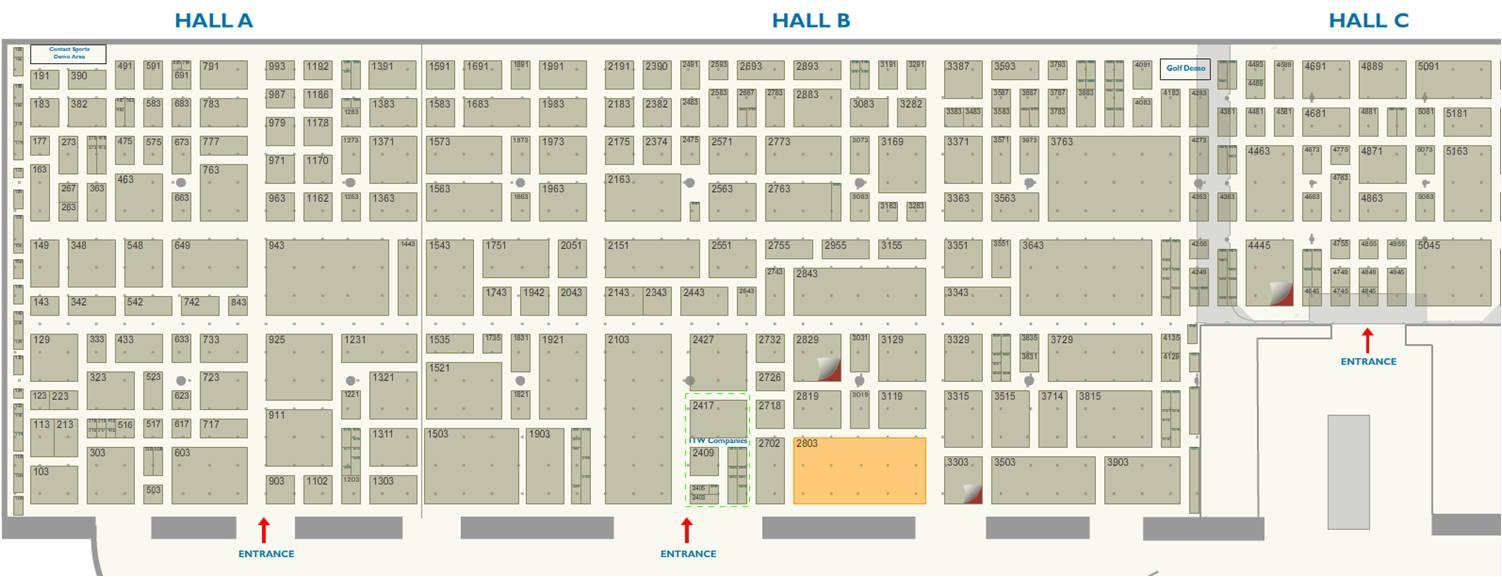 Orange County Convention Center Floor Plan: Adolph Danda Associates